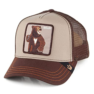 Goorin Bros. Bear Trucker Cap Adjustable  Amazon.co.uk  Clothing e75bc2a4b3a