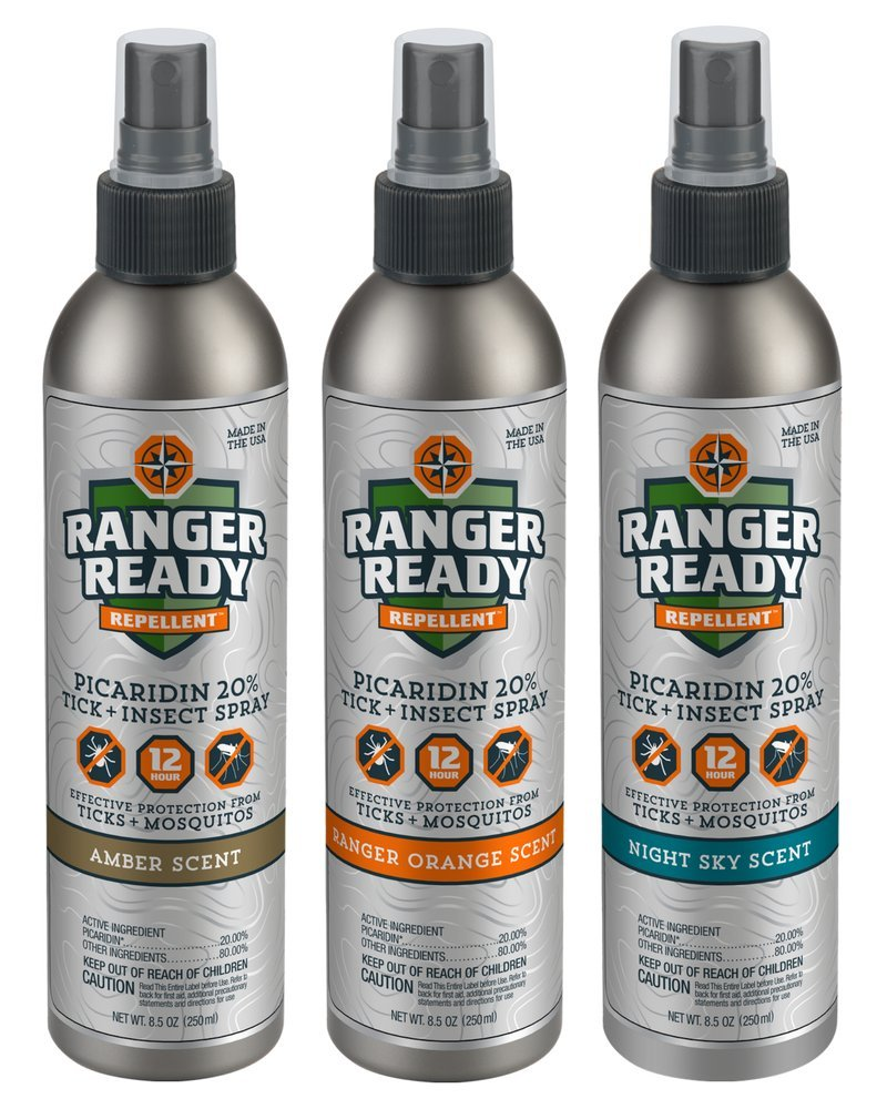 Ranger Ready Picaridin 20% Tick and Insect Repellent | Expedition Pack | Variety | 3X 235ml/8oz