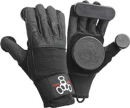 1-Pair Triple Eight Downhill Longboard Slide Gloves for Downhill Skateboarding