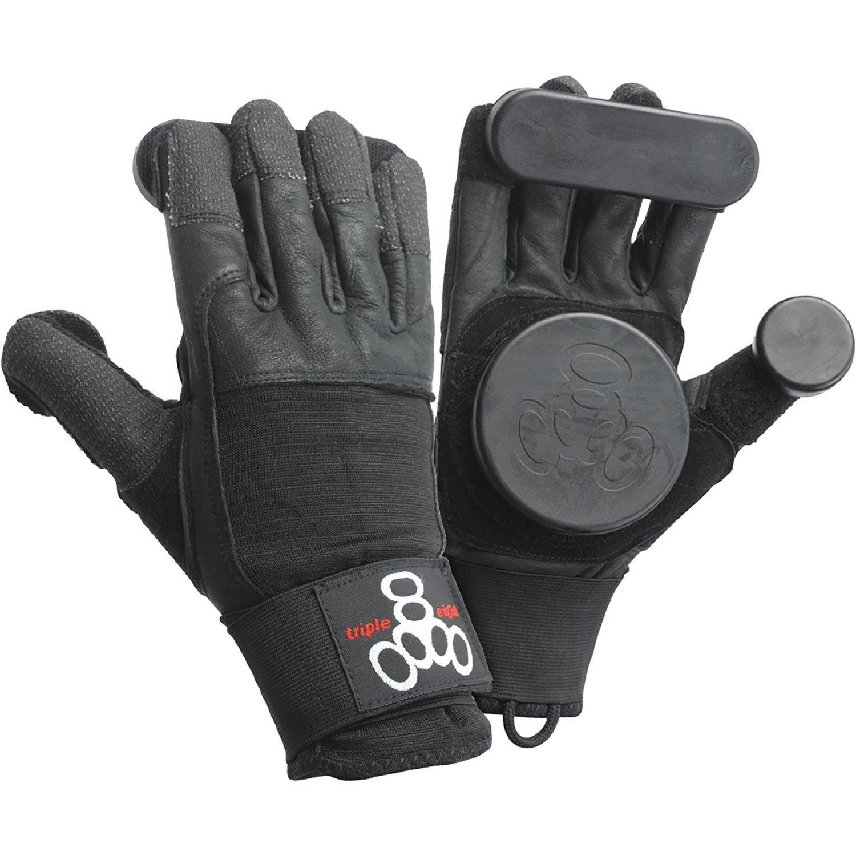Triple 8 Standard 黒 Small Slide Gloves Downhill Slide Gloves by Triple Eight