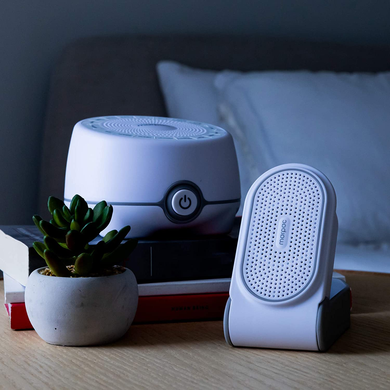 Yogasleep Road Warrior Bundle   Whish 16-Sound White Noise Machine & Go Portable Travel White Noise Machine   Travel, Office Privacy, Sleep Therapy, Concentration   for Adults & Baby