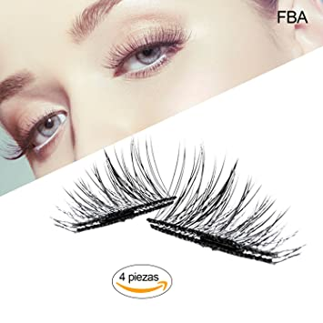 7eaa8421076 Magnetic False Eyelashes, Best Fake Lashes Extension for Natural, Ultra  Thin Fiber Eye lashes