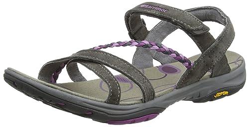 Karrimor Amazon Damen Sandalen Schwarz Outdoor Schuhe Flops
