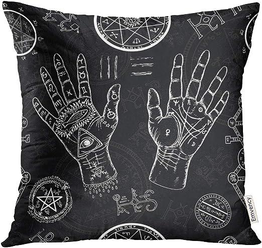 Throw Pillow Covers Mystical Human