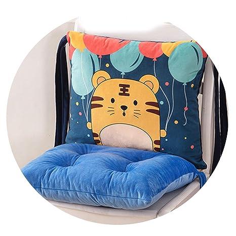 Amazon.com: Cojines para silla de cocina, de dibujos ...