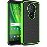 Moto G6 Play Case, SYONER [Shockproof] Defender Phone Case Cover for Motorola Moto G Play 6th Generation [Green]
