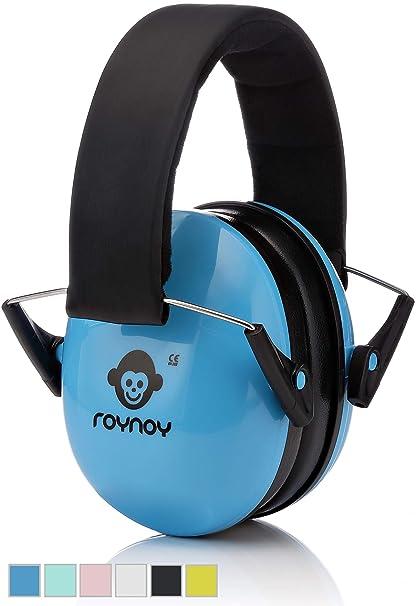 roynoy | Baby de protección auditiva (Azul) a partir de 12 meses, niños