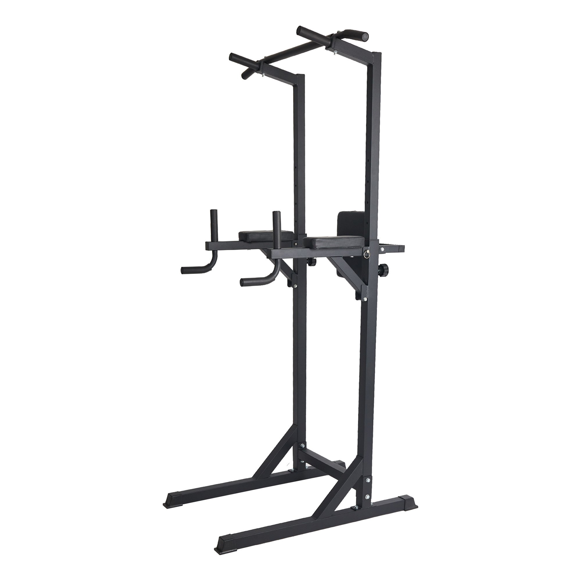 Livebest Heavy Duty Fitness Power Tower Multi-Function Strength Training Workout Dip Station Work Out Equipment for Home Gym by Livebest (Image #1)