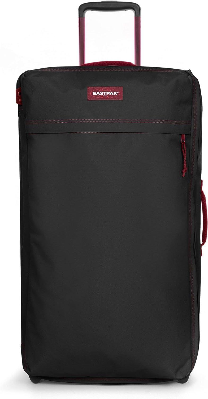 Eastpak Traf'Ik Light L Maleta, 85 cm, 101 L, Negro (Blakout Strip Red)
