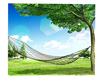 260cm x 80cm nylon hanging mesh sleeping bed swing outdoor travel camping hammock 260cm x 80cm nylon hanging mesh sleeping bed swing outdoor travel      rh   amazon ca