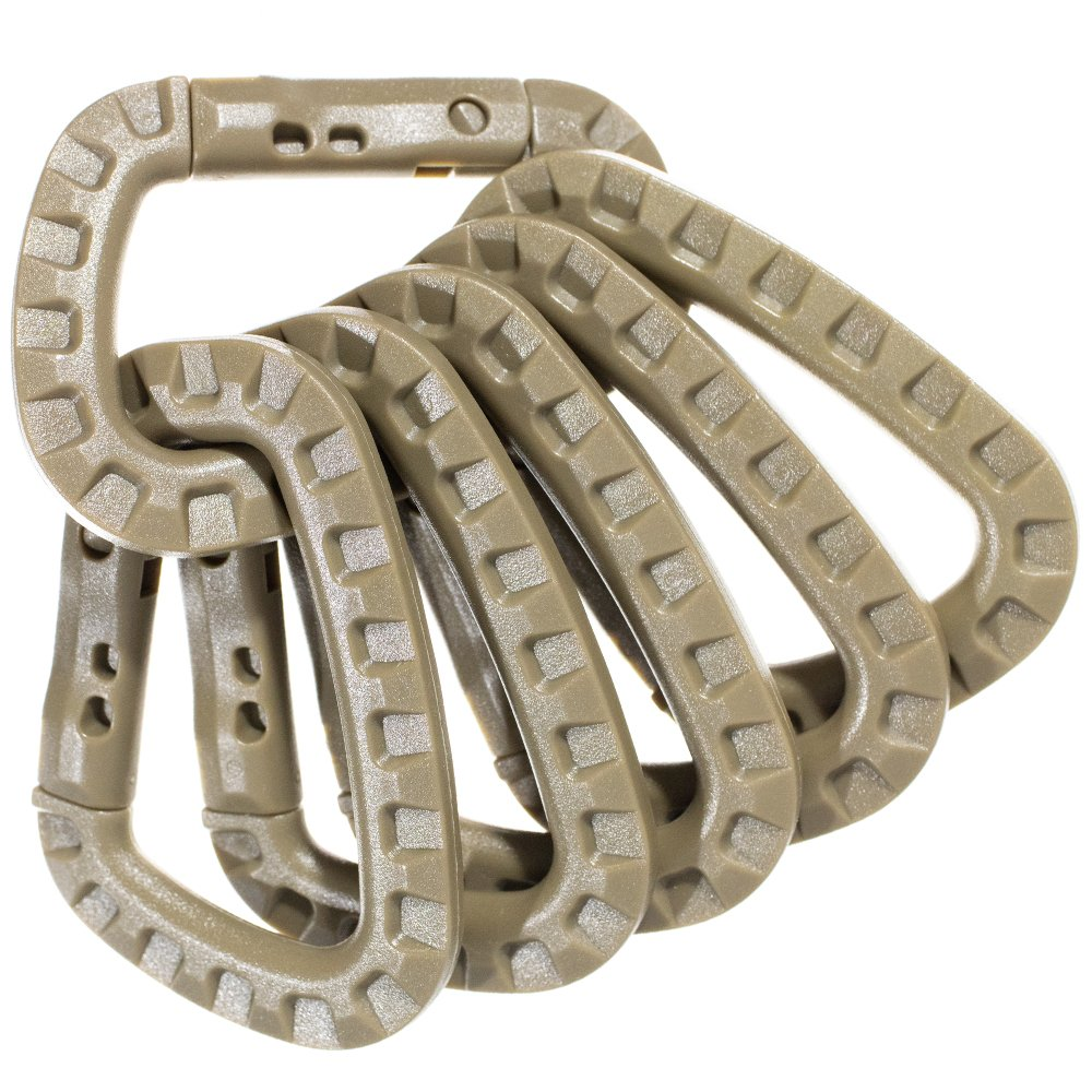 and Colors! PARACORD PLANET Carabiners Styles Available in a Variety of Sizes