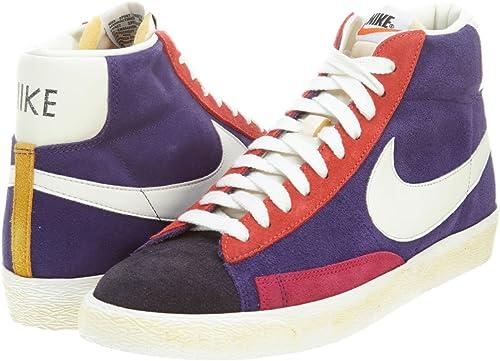 antes de Existe Diversidad  Nike Blazer High Suede High Top Purple Trainers Sneaker Men 508220 010  Purple Size: 11 UK: Amazon.co.uk: Shoes & Bags