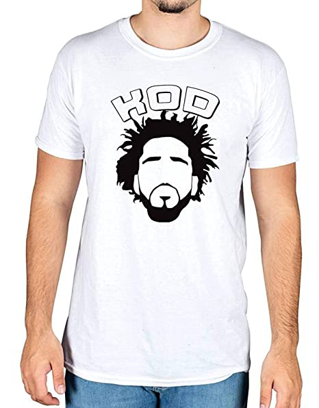 Amazon.com: J Cole Silhouette - Camiseta de manga corta ...