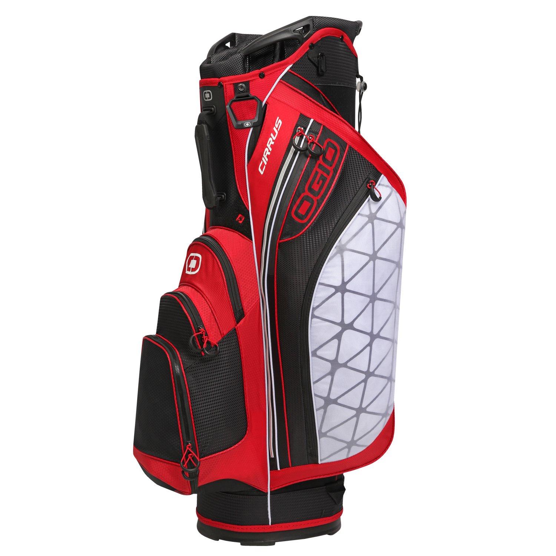 新しいOgioゴルフCirrusカートバッグ B00FCEDLGE  レッド