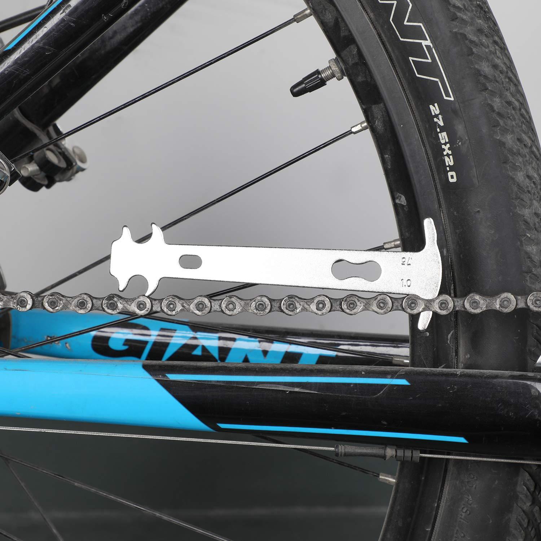 3pcs Qkurt Bike Tool Set Bike Chain Tool Bike Link Plier Chain Checker Perfect Tool for Bike Repair