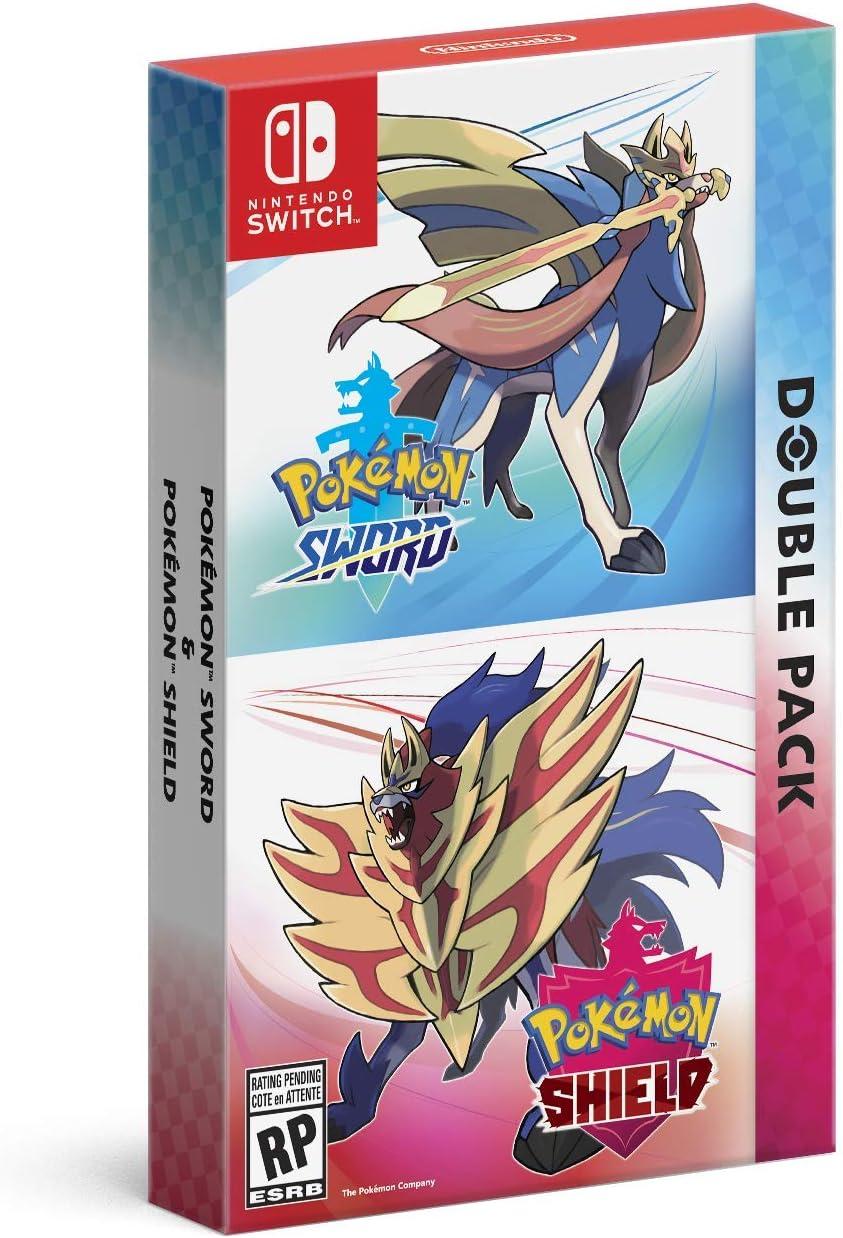 Amazon Com Pokemon Sword And Pokemon Shield Double Pack Nintendo