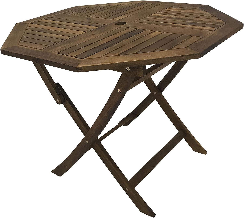 Amazon.de: Klapptisch 41x41cm Akazie 41eckig Gartentisch Holztisch