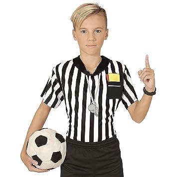 WIDMANN Camiseta de árbitro de fútbol niño 11-13 años (146 ...