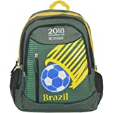 FIFA 40 Ltrs Green::Yellow School Backpack (MBE-FF001)