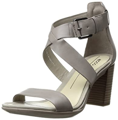 45ed7dff4b54 ECCO Women s Women s Shape 65 Block Heel Dress Sandal Moon Rock 35 EU 4-