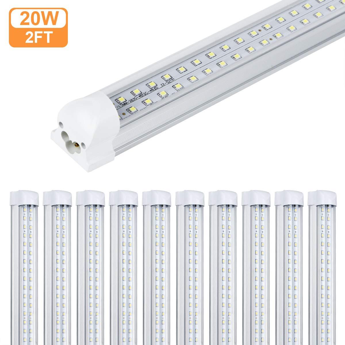 T8 LEDチューブライト 4-2FT-SP-CW- 6500k B07L66RKPJ