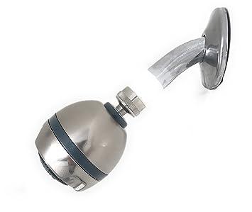 Best Duschkopf Für Niedrigen Wasserdruck Massage Silber Amazon