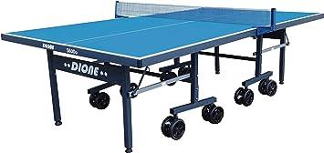 Dione S600o Mesa de Ping Pong para Exteriores, con Ruedas ...