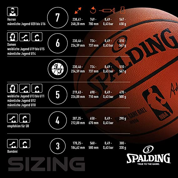 Spalding NBA Team Brooklyn Nets 83-588Z Balón de Baloncesto ...