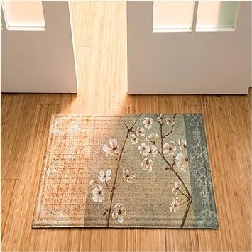 QIANMO Colchones colchón Carpet colchones colchones colchones Alfombras alfombras de Cocina, de 75 * 45 cm Plum Blossoms: Amazon.es: Hogar