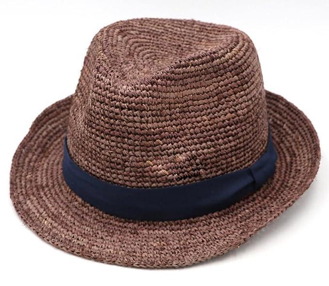 6dcef808c3d59 Verano Sombrero De Paja Al Aire Libre Sombrero Para El Sol Playa Día De Fiesta  Sombrero Para El Sol