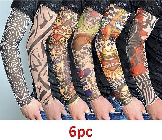 Kits de Mangas de Tatuaje, 6 Hojas Cycling Sports Tattoo Mangas ...