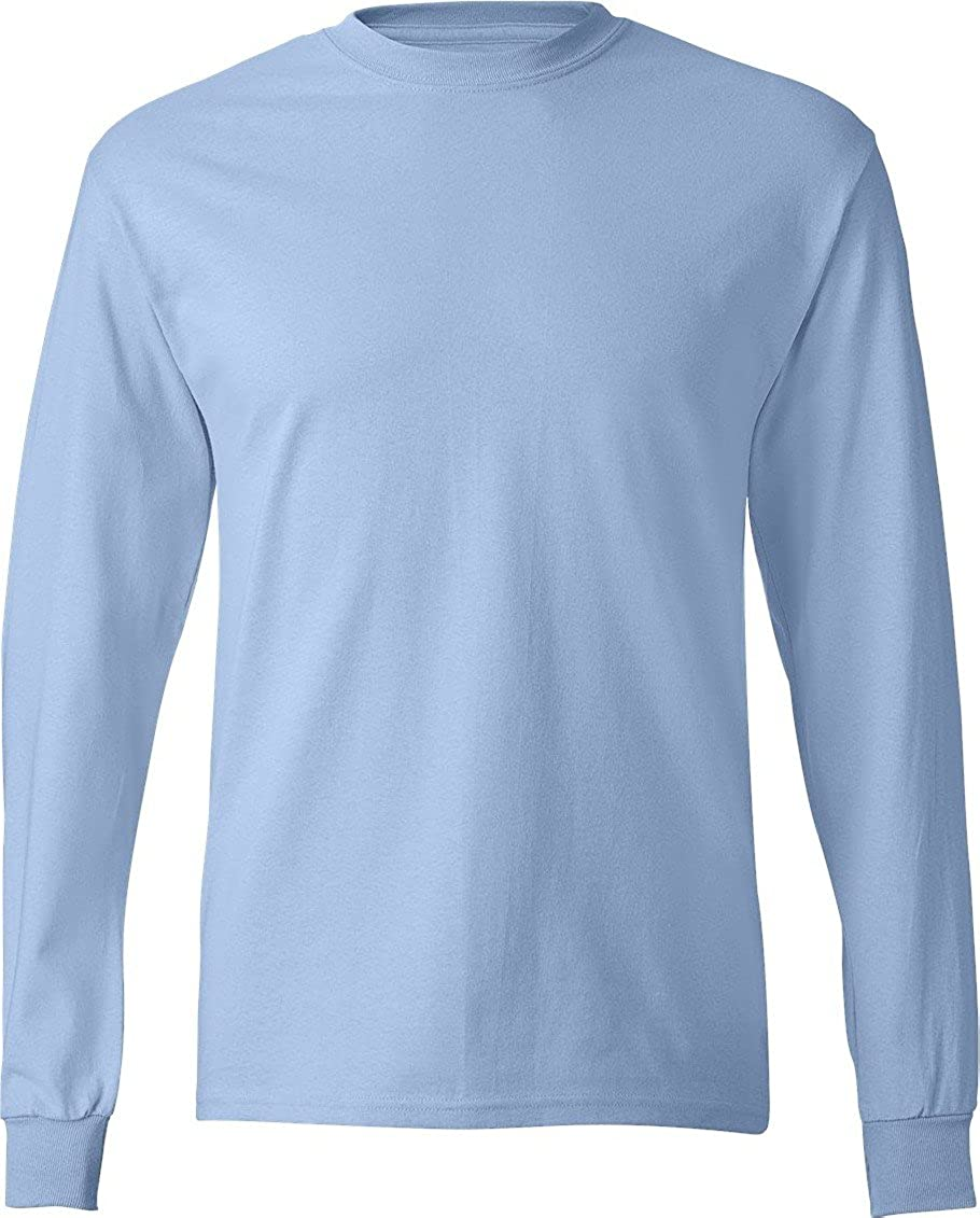 Light Blue Long Sleeve Shirt - Greek T Shirts