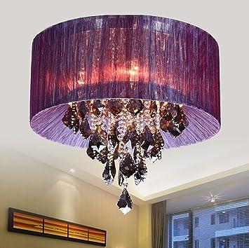 Deko-Deckenleuchten LED-Kristalldecken Wohnzimmer Speise Tuch ...
