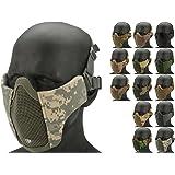 Evike - Matrix Low Profile Iron Face Padded Lower Half Face Mask