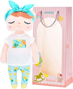 Me Too Baby Doll Girl Gifts Plush Toy Rag Dolls Angela Fruit Girl Toys Pineapple 13 Inches
