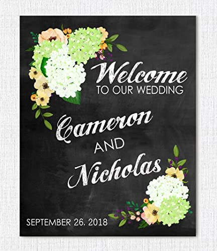 Amazon wedding sign personalized welcome wedding sign wedding sign personalized welcome wedding sign wedding gift wedding decor junglespirit Images