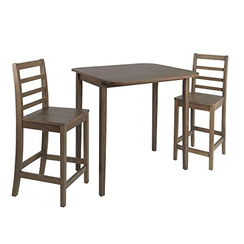 Silverwood Dining Set, Light Gray