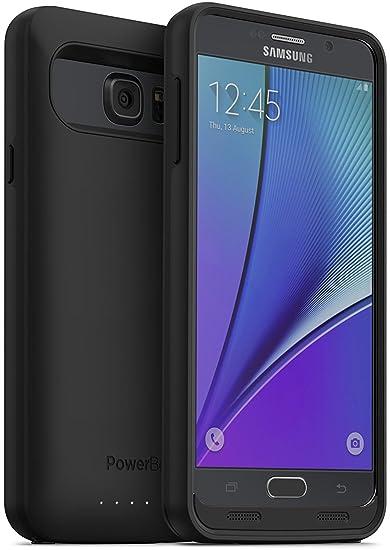 amazon com powerbear note 5 battery case 5000 mah high capacity rh amazon com Samsung Windows Phone Flip Old Samsung Phones AT&T