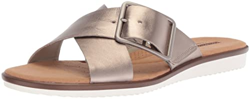 e94cd5435 Clarks Women s Kele Heather Flat Sandals  Amazon.ca  Shoes   Handbags