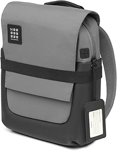 Moleskine ID Backpack, Small, Slate Grey