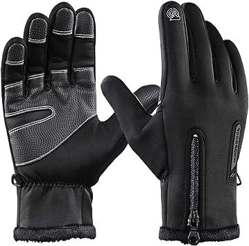 Men/'s Winter Motorcycle Gloves Touch Screen Finger Waterproof Windproof Outdoor