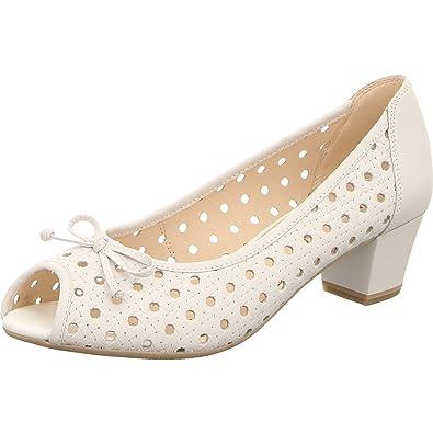 a01d8586e33951 CAPRICE Damen Pumps 9-9-29200-20 102 weiß 435491  Amazon.de  Schuhe ...