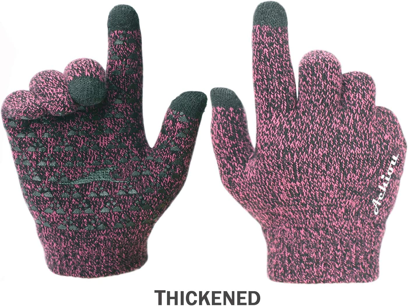 Achiou Winter Knit Gloves...