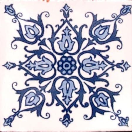 90 Hand Painted Talavera Mexican Tiles 4 x4 Wholesale Set