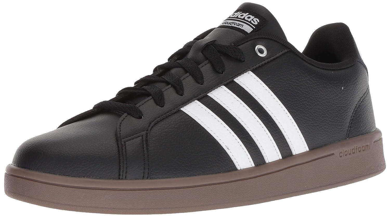 Core noir Footwear blanc Gum adidas Cloudfoam Advantage Daim Baskets 42.5 EU