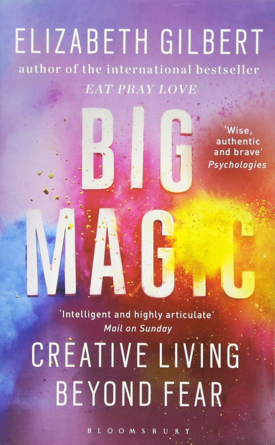 Image result for big magic elizabeth gilbert