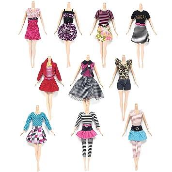 Puppen & Zubehör Babypuppen & Zubehör Barbie Kleidung Puppen Kleider Accessoires Geschenk für Mädchen Kostüm Zubehör