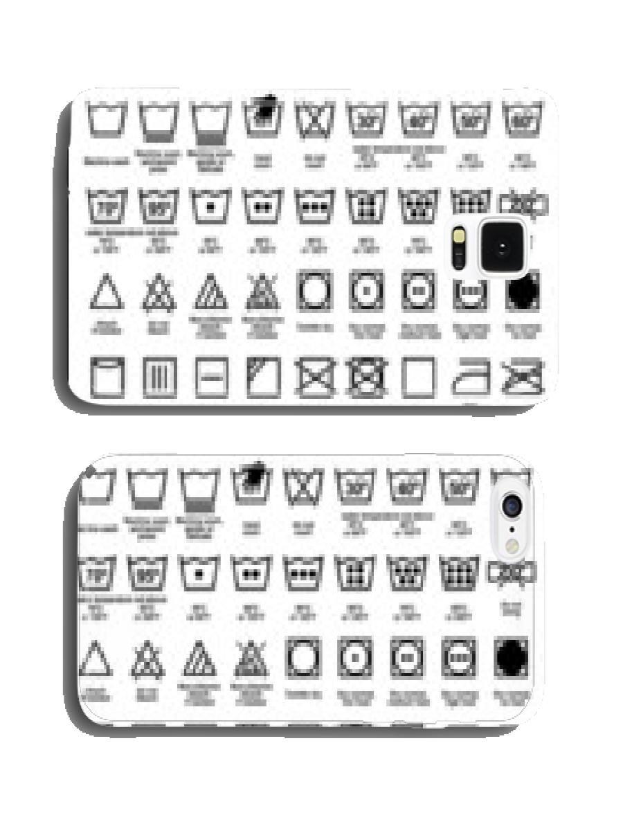 Icon Set of Laundry Symbols funny case Pare Ntitem: Amazon