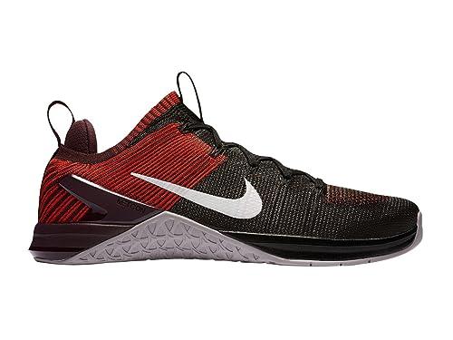 Nike Metcon Dsx Flyknit 2, Zapatillas de Deporte para Hombre, (Black/Vast Grey/Chile Red 002), 46 EU: Amazon.es: Zapatos y complementos