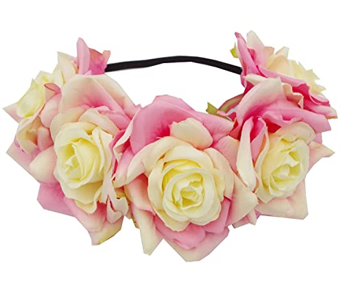 Love Sweety Rose Flower Headba...